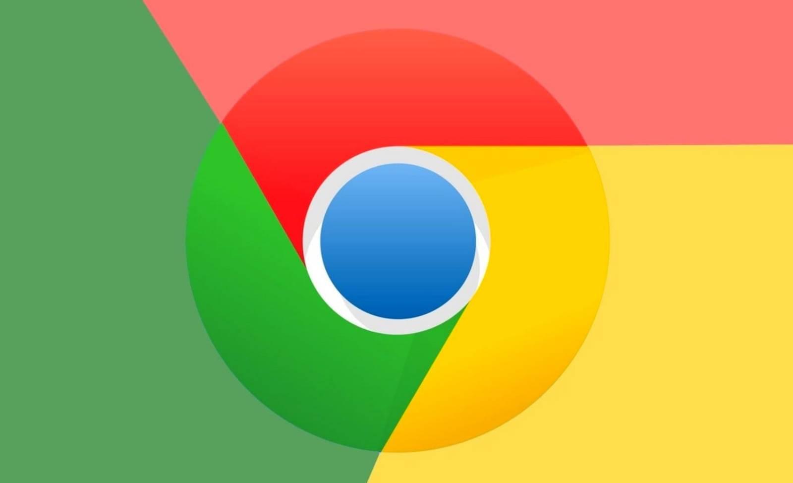 Google Chrome meniu contextual