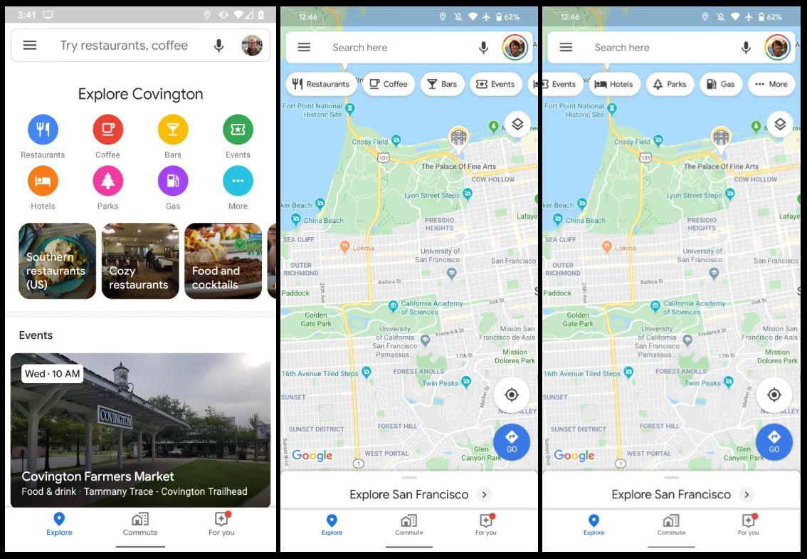 Google Maps scurtaturi cautari locatii