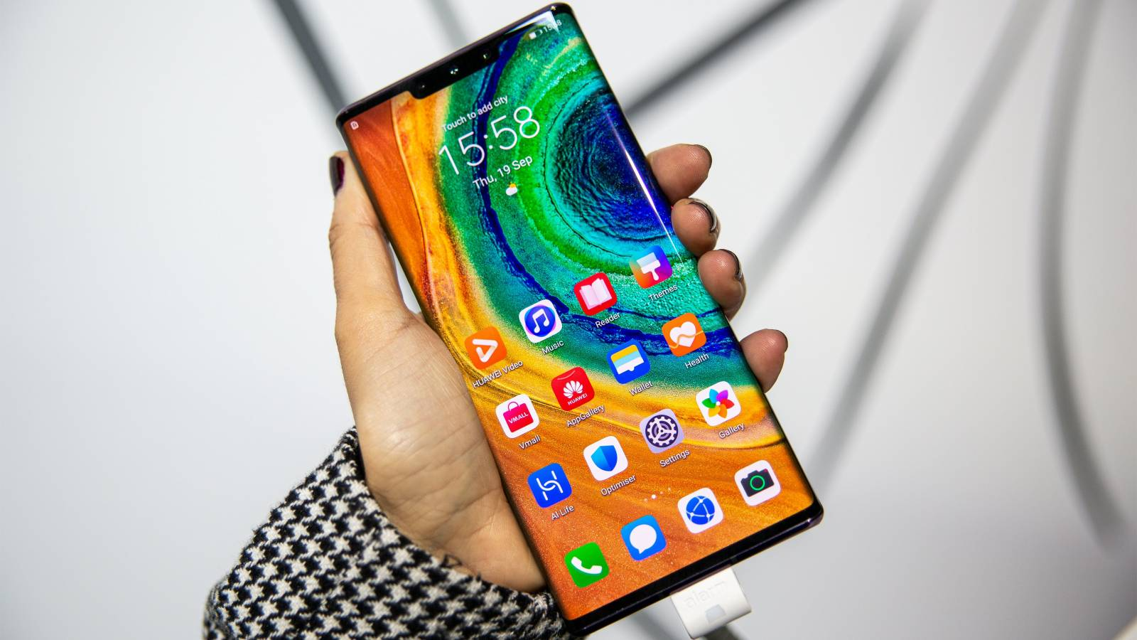 Huawei acord licente