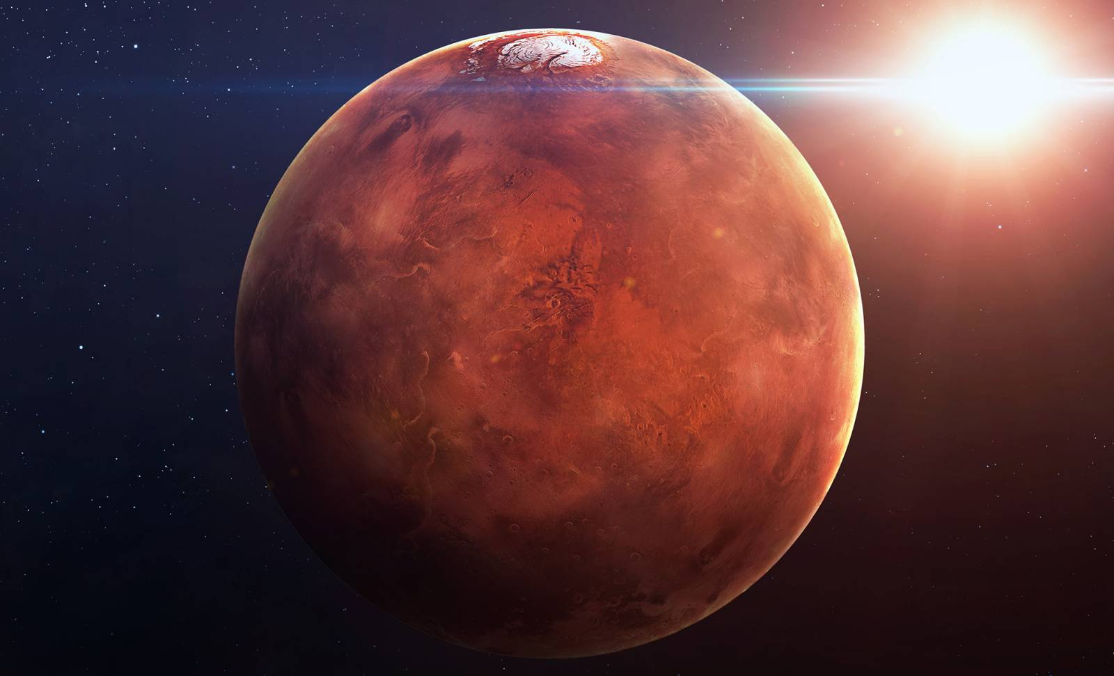 Planeta Marte dovezi viata insecte