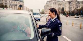 Politia Romana amenzi vana trafic