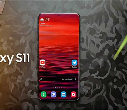 Samsung GALAXY S11 baterie imagine