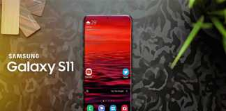 Samsung GALAXY S11 single take video spin