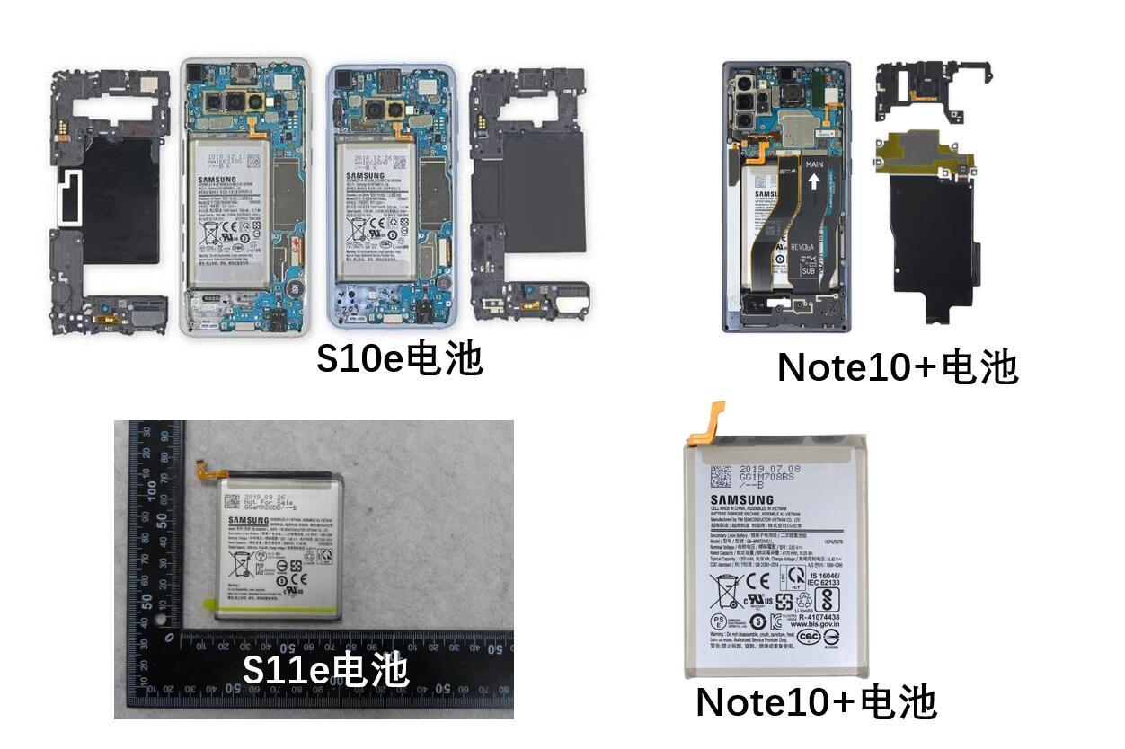 Samsung GALAXY S11e baterie