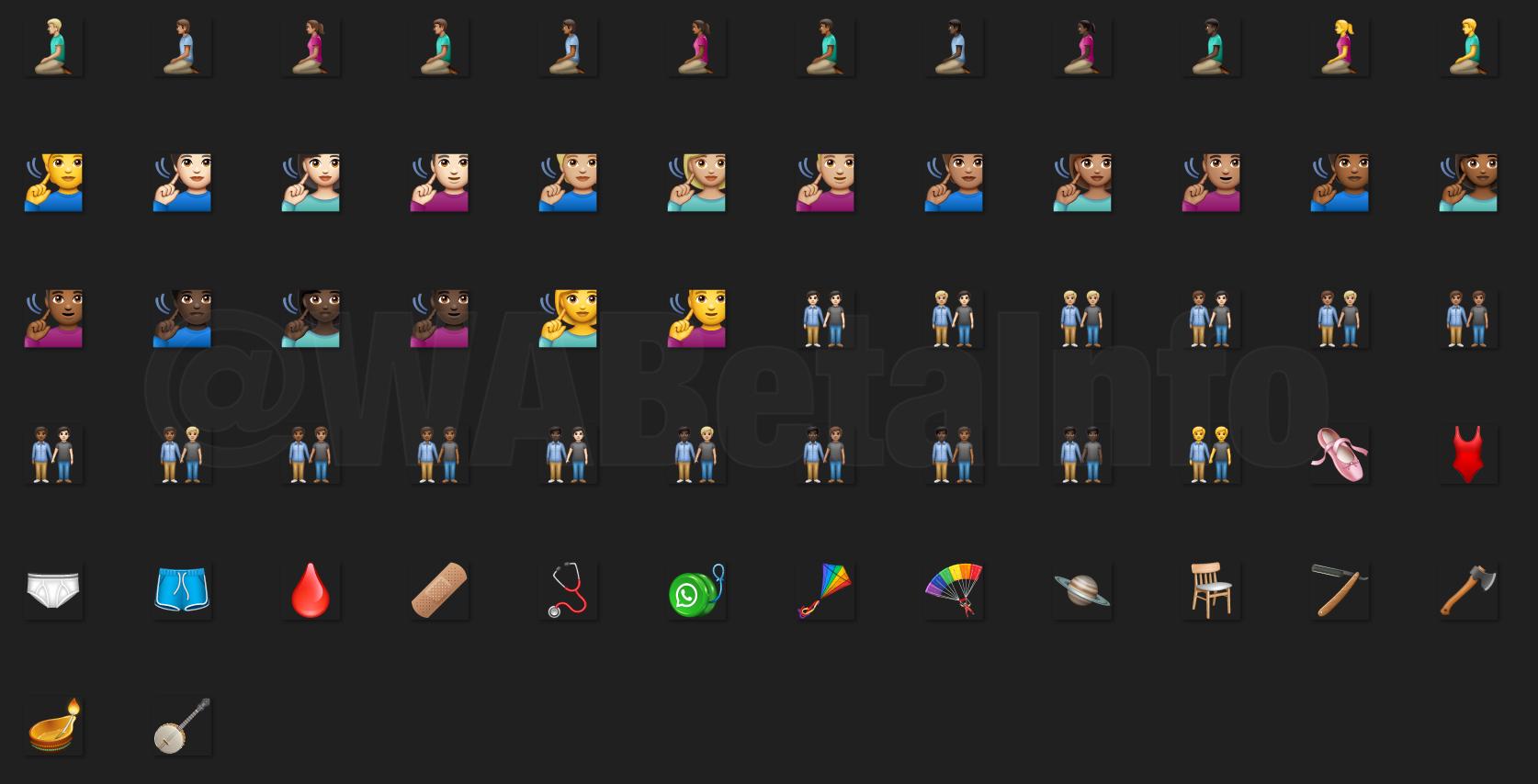 WhatsApp SURPRIZA TOATE Telefoanele emoji 3