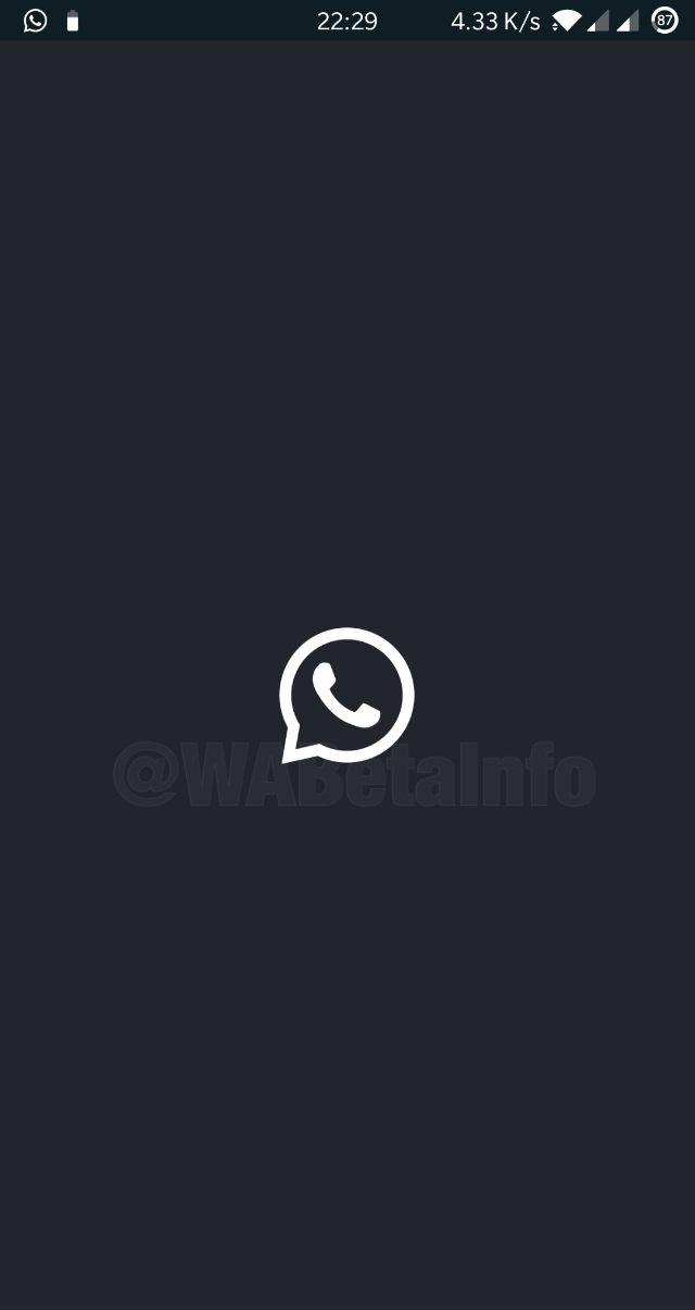WhatsApp dar mode pornire android