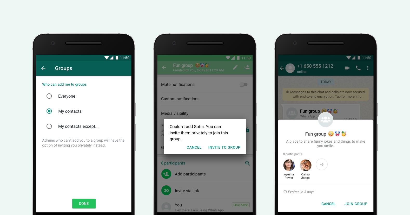 WhatsApp lansare noi functii telefoane grupuri conversatii