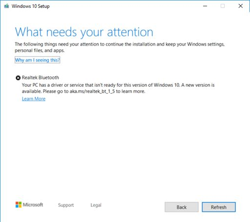 Windows 10 driver realtek bluetooth