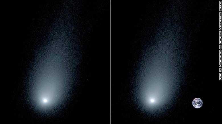 cometa interstelara imagine