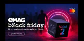 eMAG a Anuntat a DOUA RUNDA Black Friday 2019 in Romania