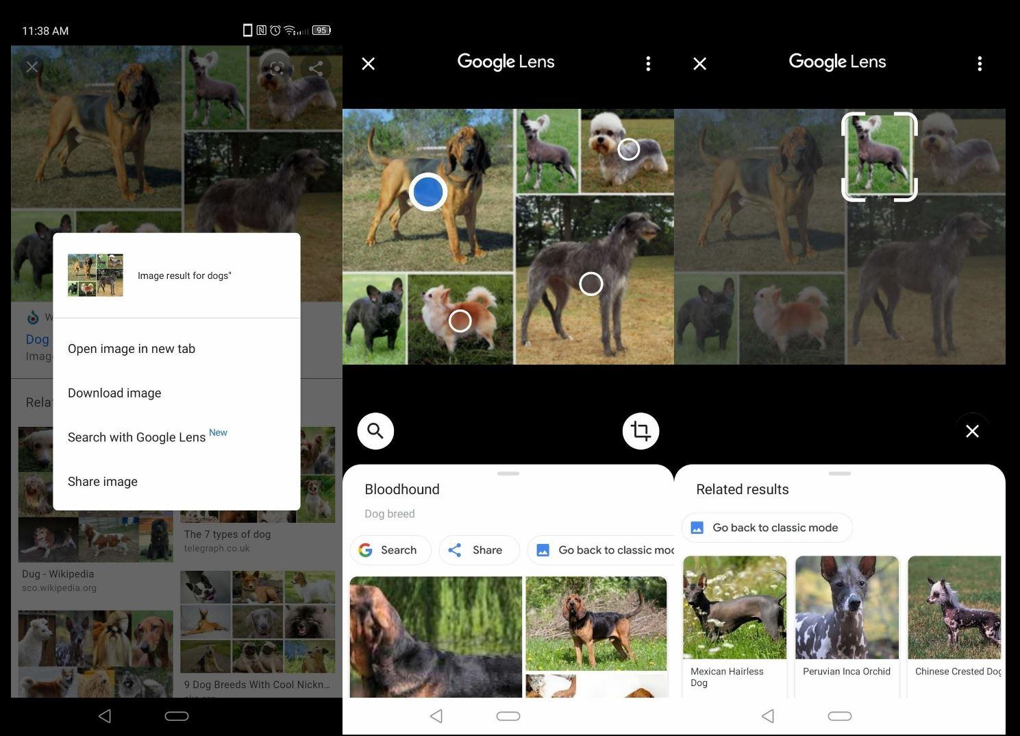 google chrome lens cautare
