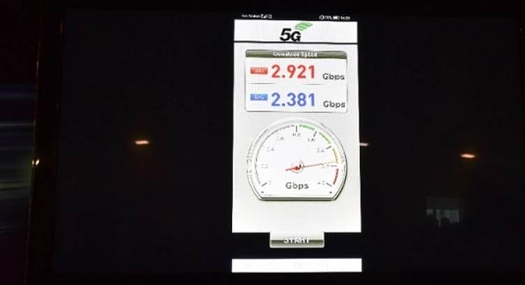 huawei record mondial viteza 5G test