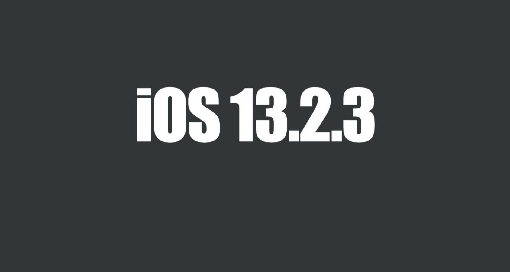 iOS 13.2.3 REZOLVA PROBLEME