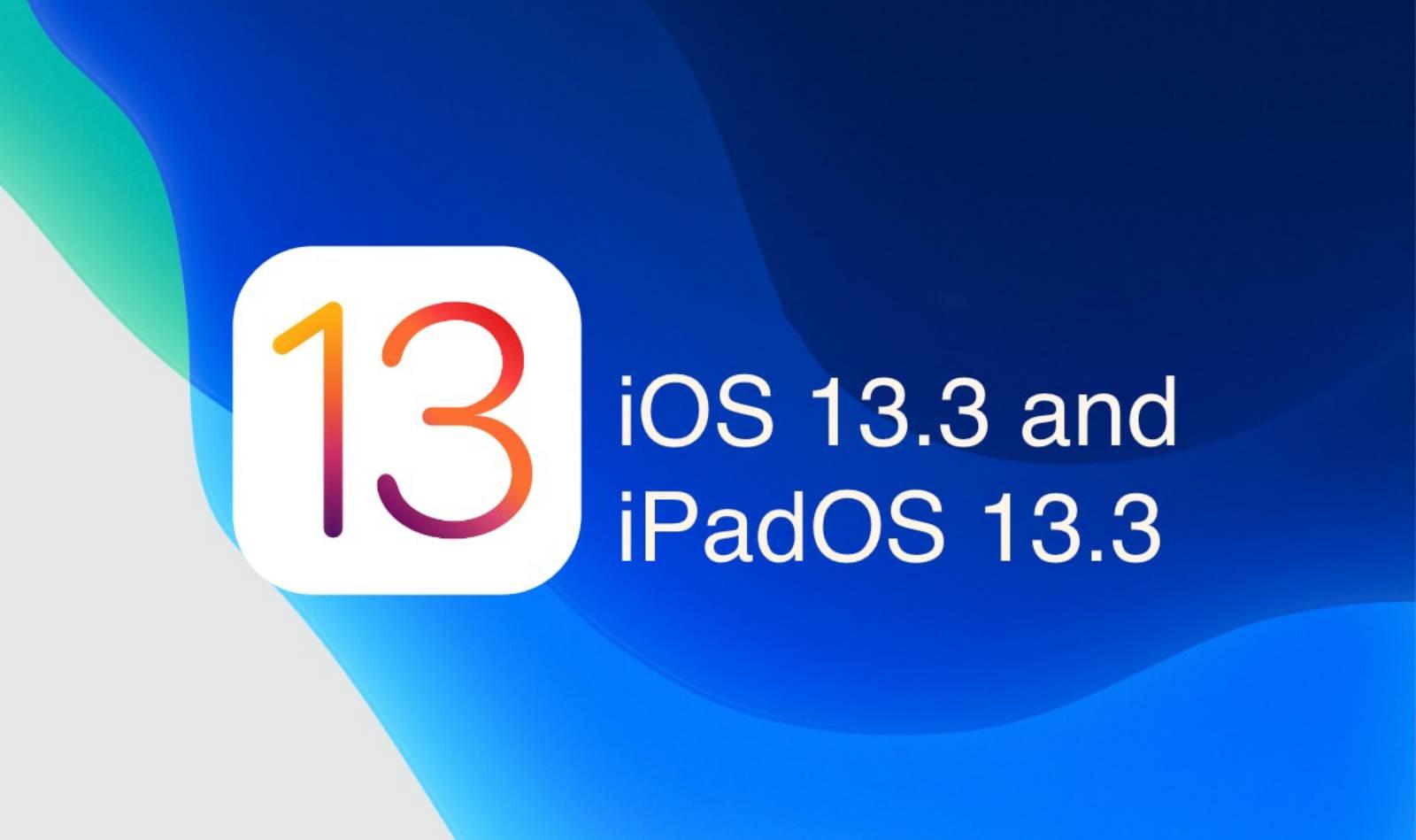 iOS 13.3 Beta 3 a fost lansat pentru iPhone si iPad de Apple