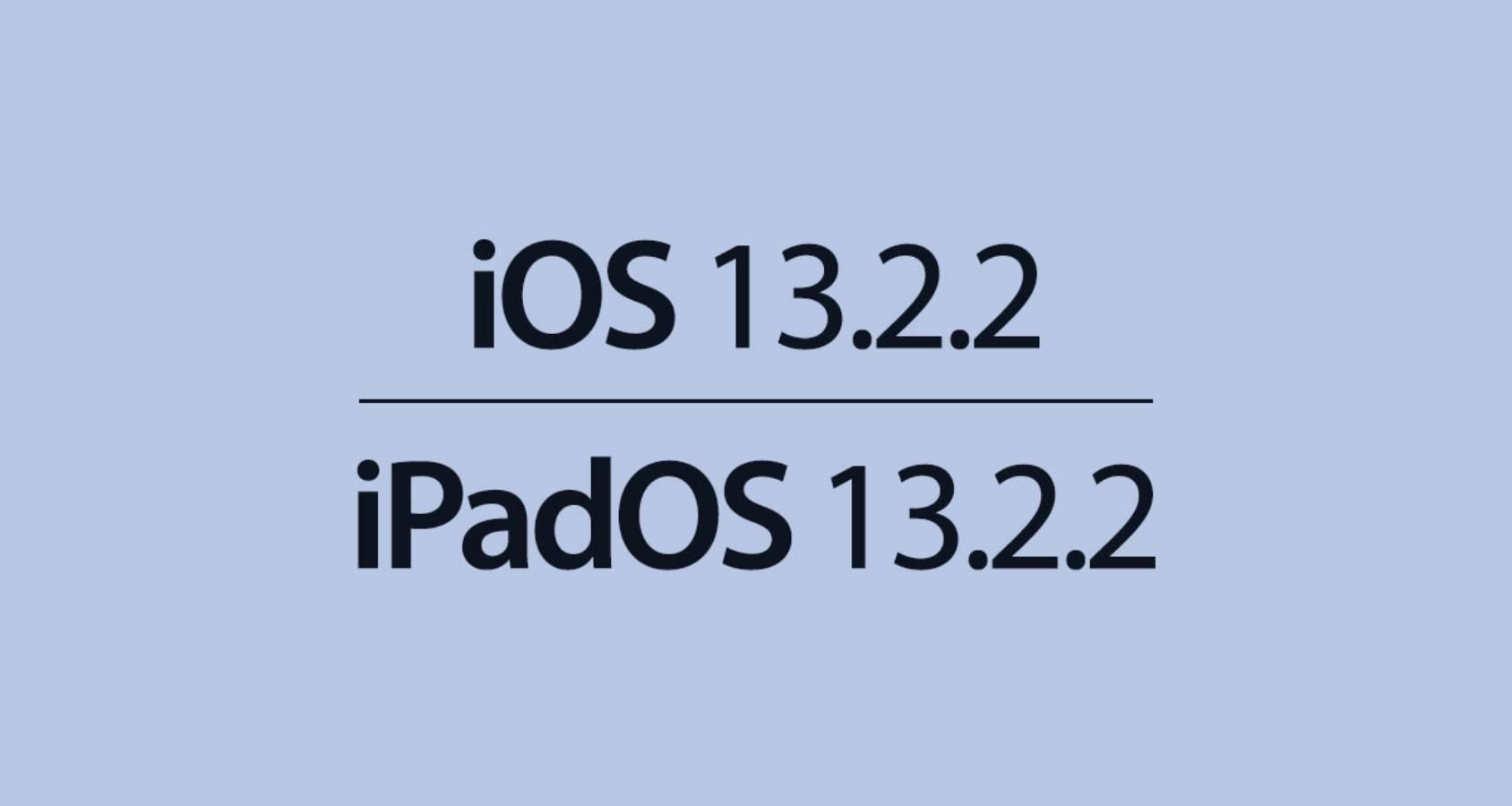 ios 13.2.2 noi probleme iphone