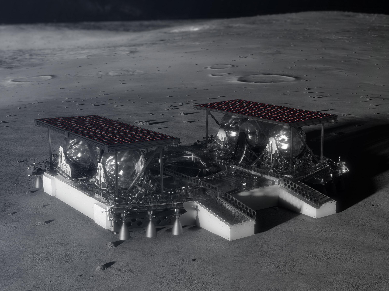 modul lunar robot
