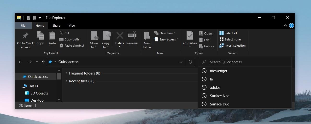 windows 10 probleme file explorer