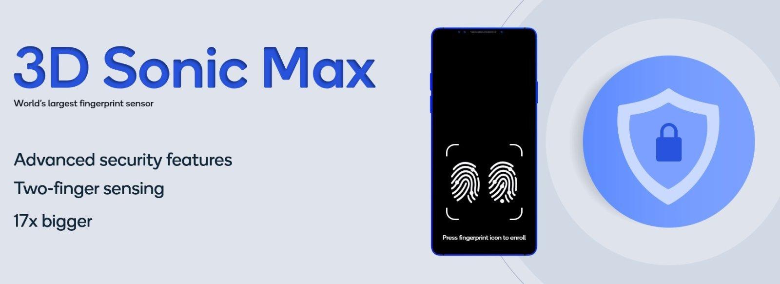 3D sonic max cititor amprente ultrasonic