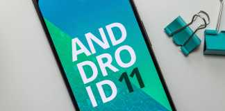 Android 11 filmari