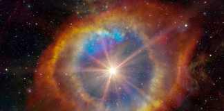 Calea Lactee forma ciudata