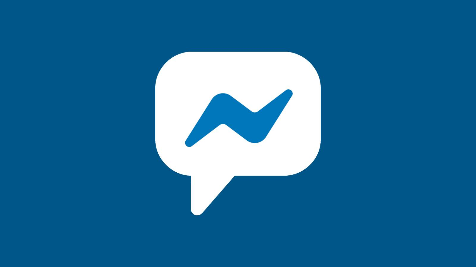 Facebook Messenger blocheaza