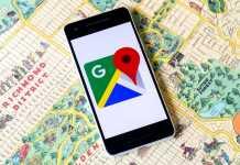 Google Maps acoperire