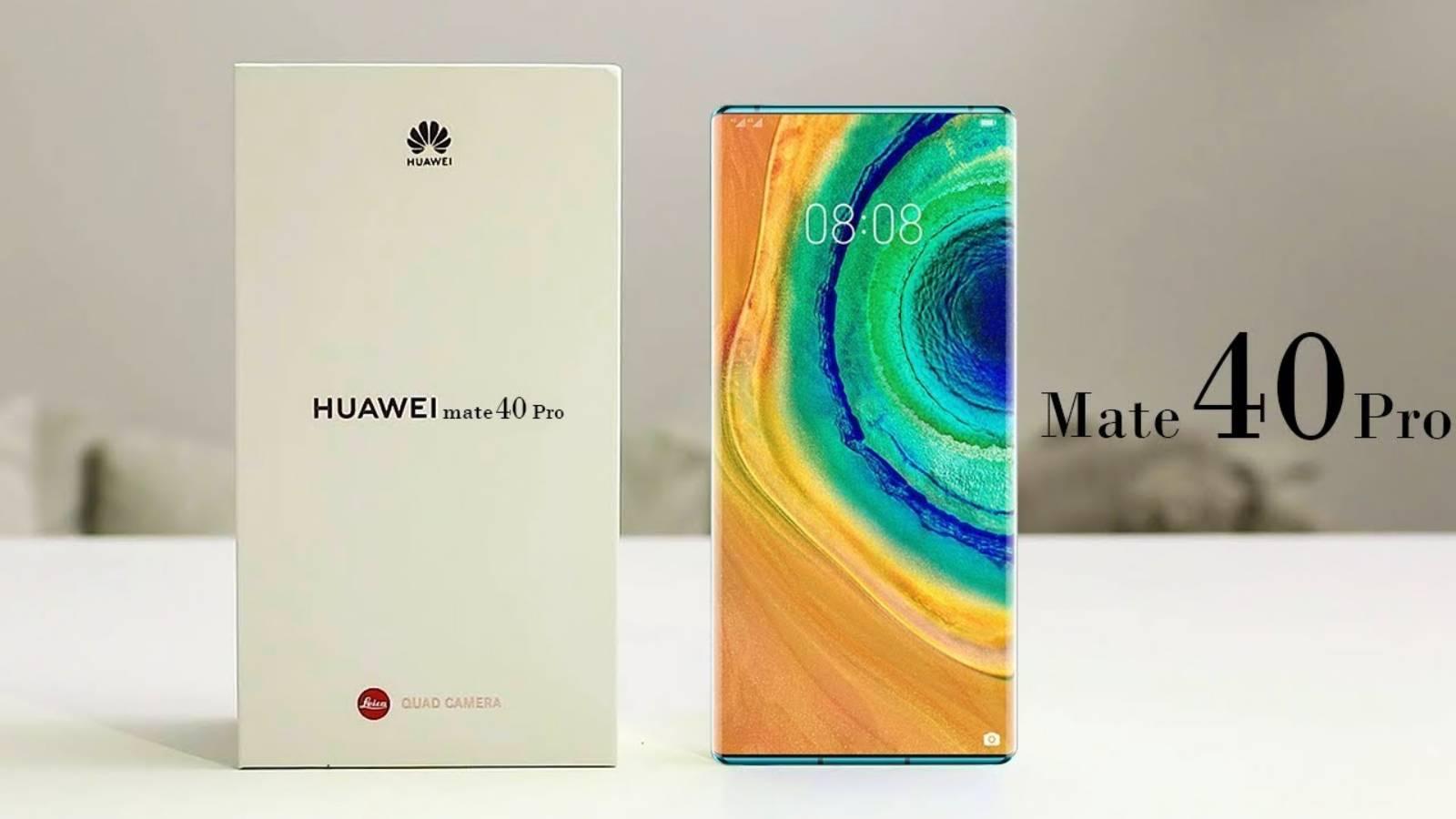 Huawei MATE 40 PRO uimire