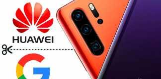 Huawei RENUNTA Google