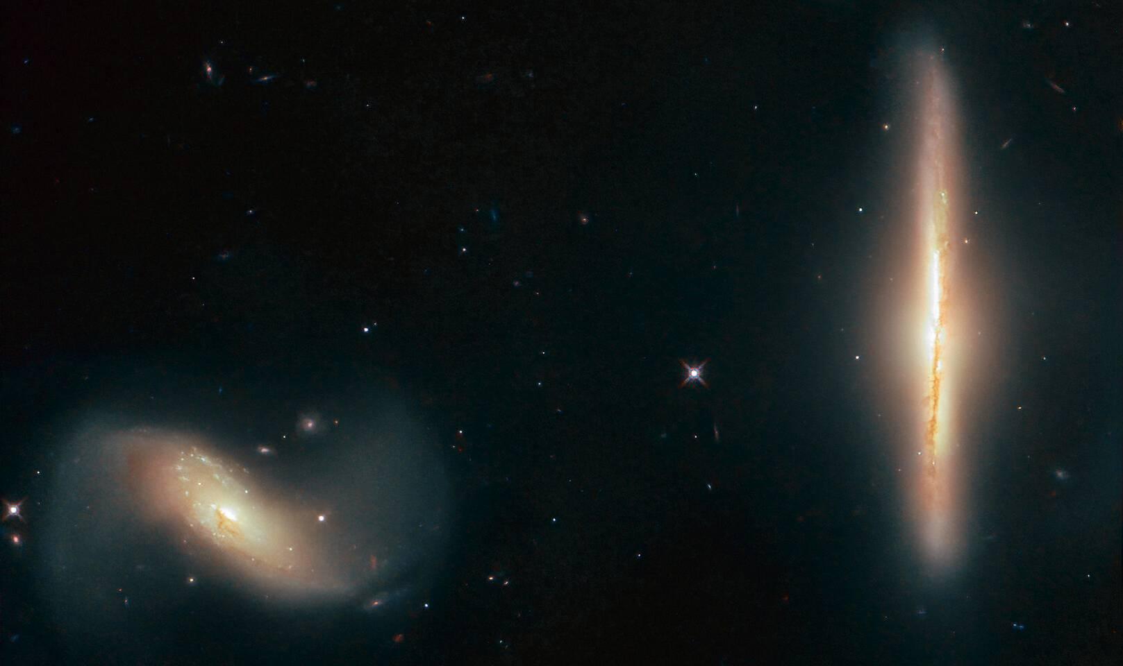 NASA Descoperire galaxii Telecopul Hubble