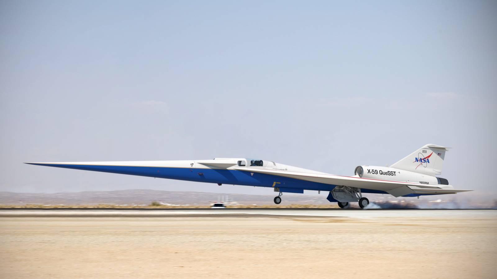 NASA avion supersonic
