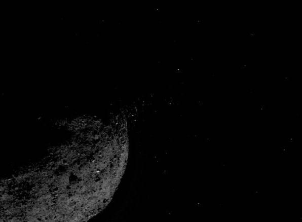 NASA imagine asteroid Bennu