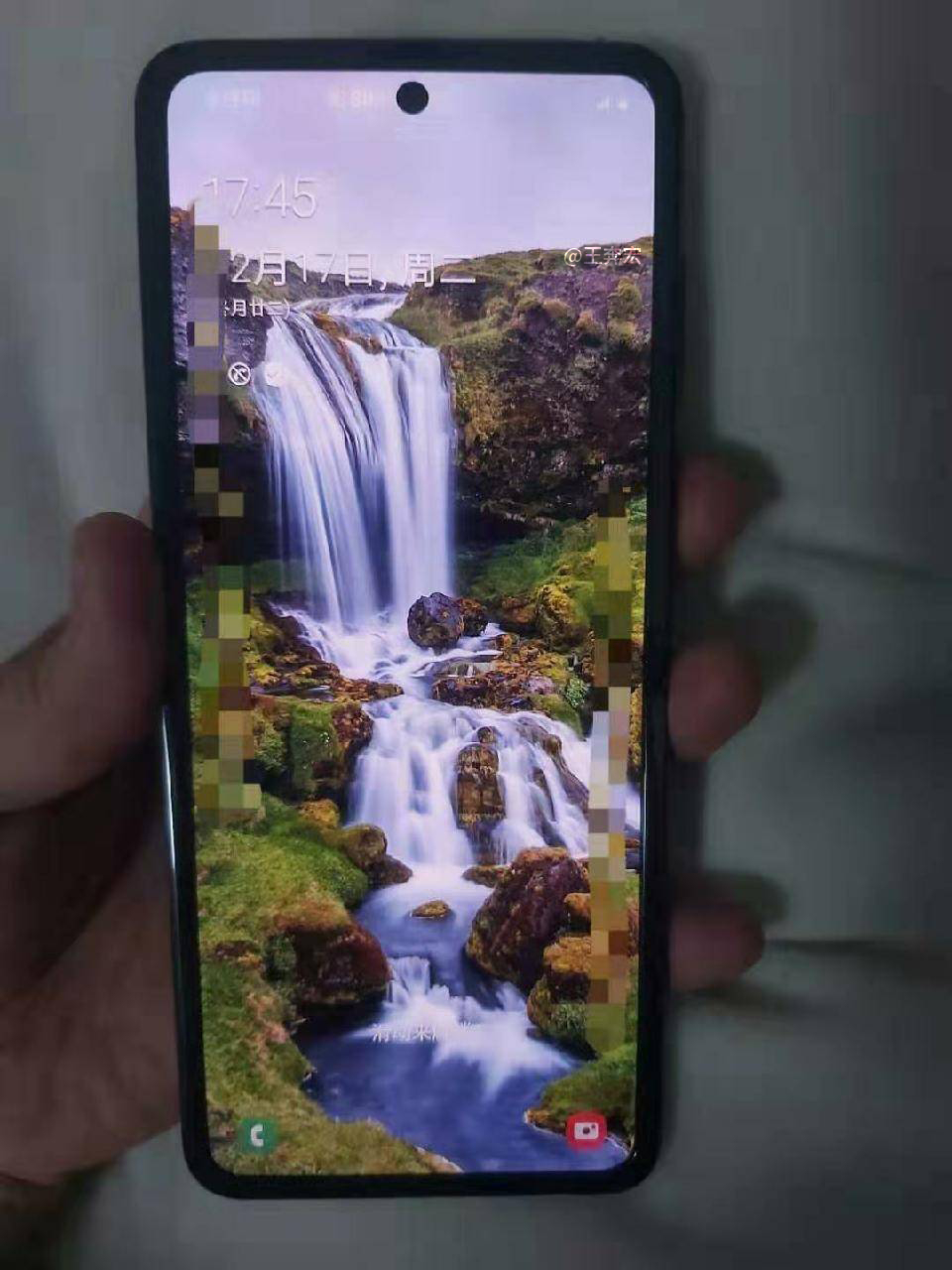 Samsung GALAXY FOLD 2 deschis complet