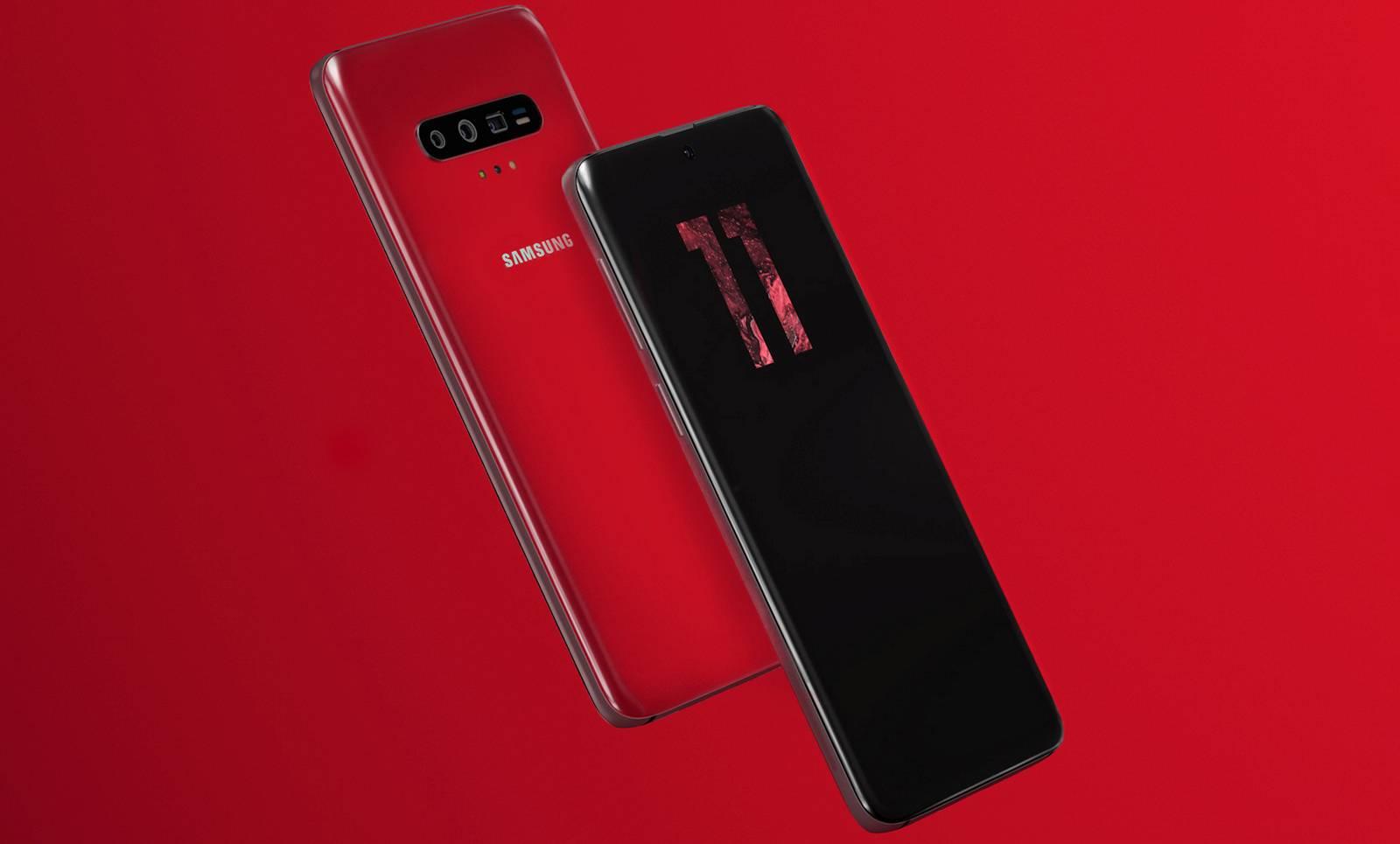 Samsung GALAXY S11 Imagine EXCLUSIVA Ecran