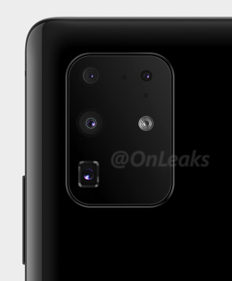 Samsung GALAXY S20 design camera