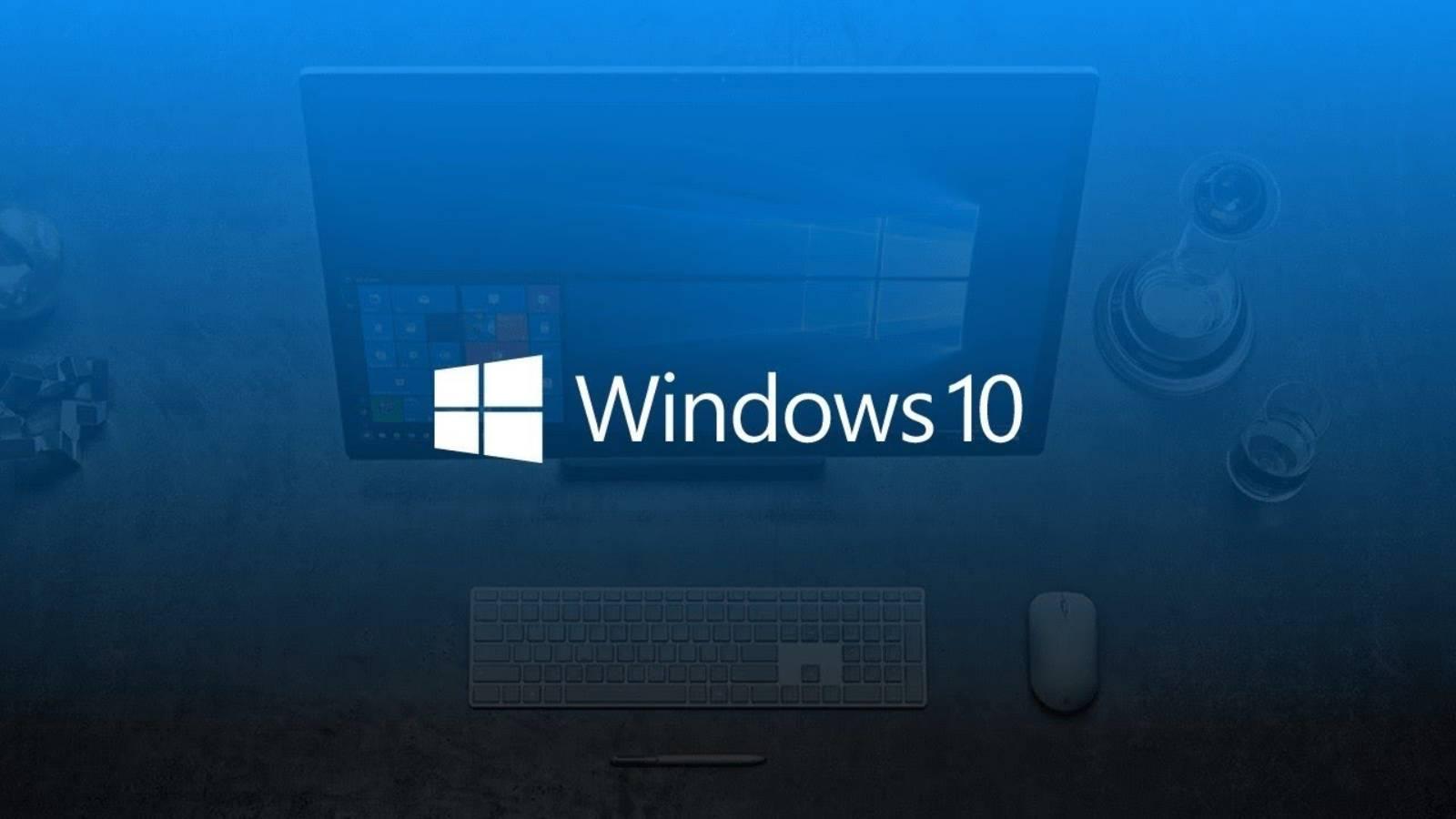 Windows 10 design modern