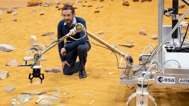 airbus robot planeta marte