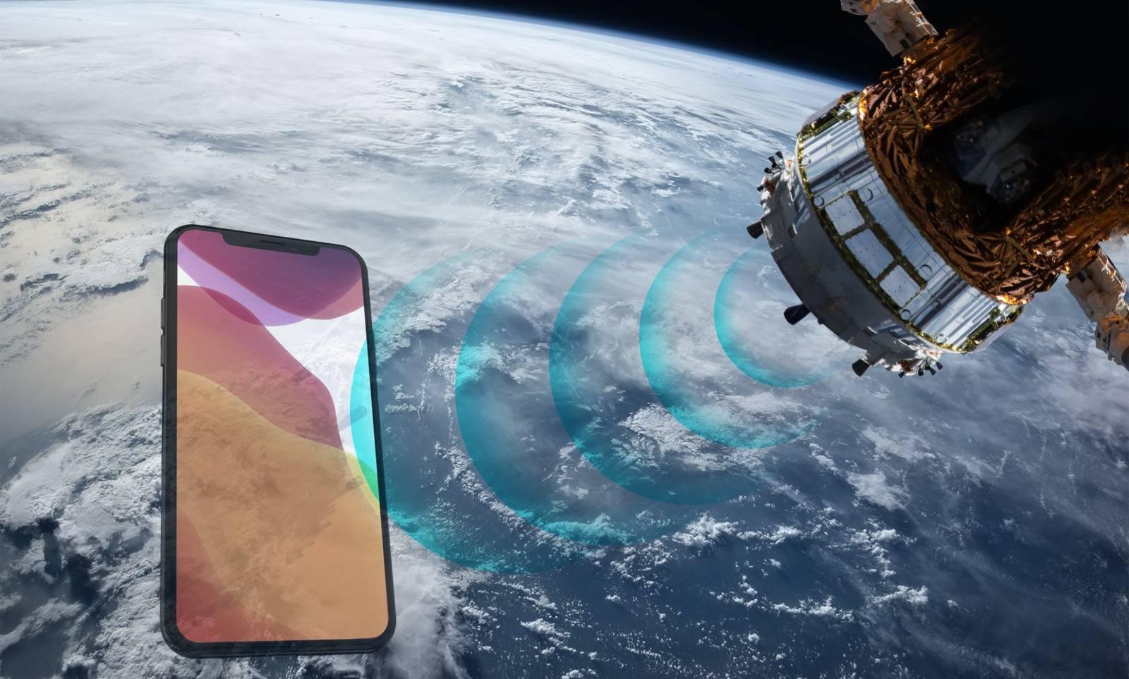 apple sateliti iphone