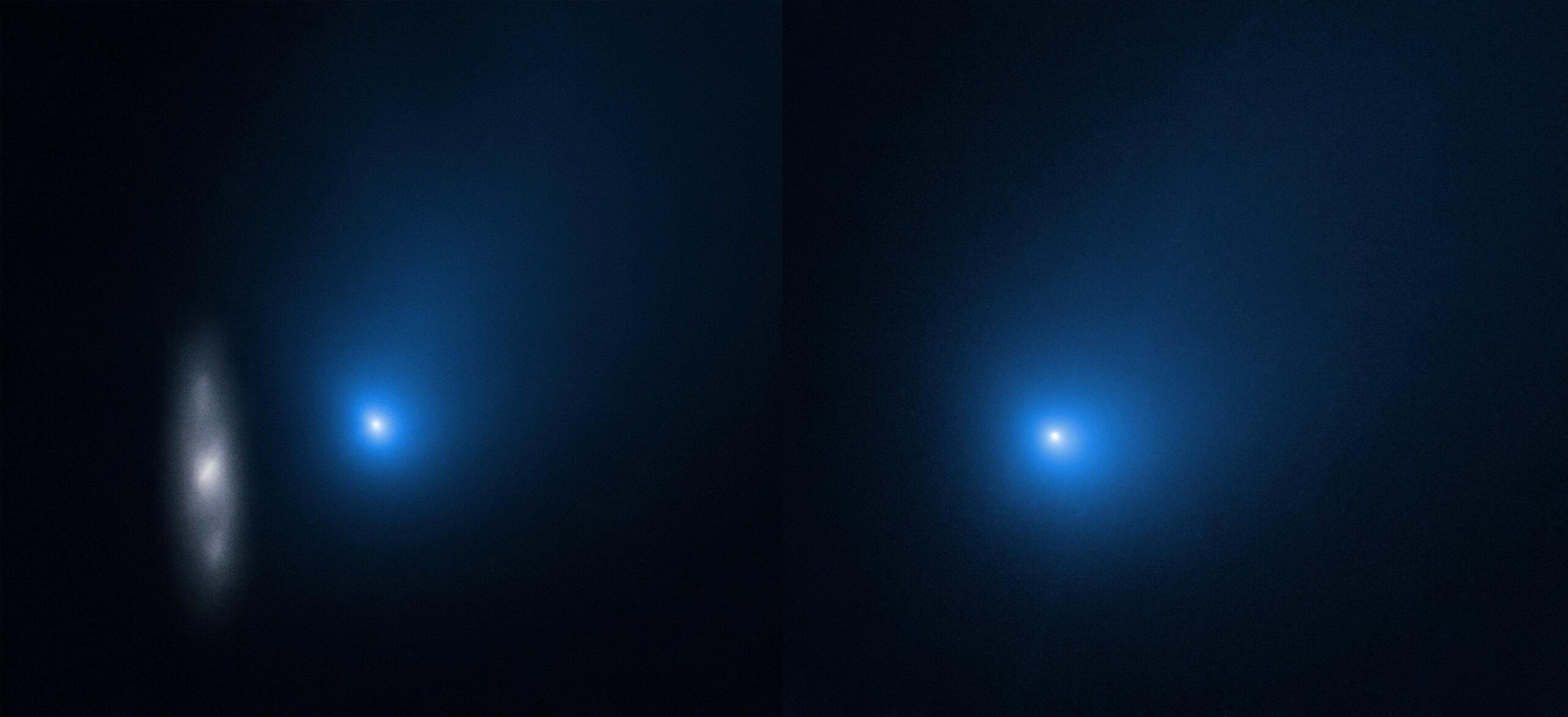 cometa borisov poze hubble nasa