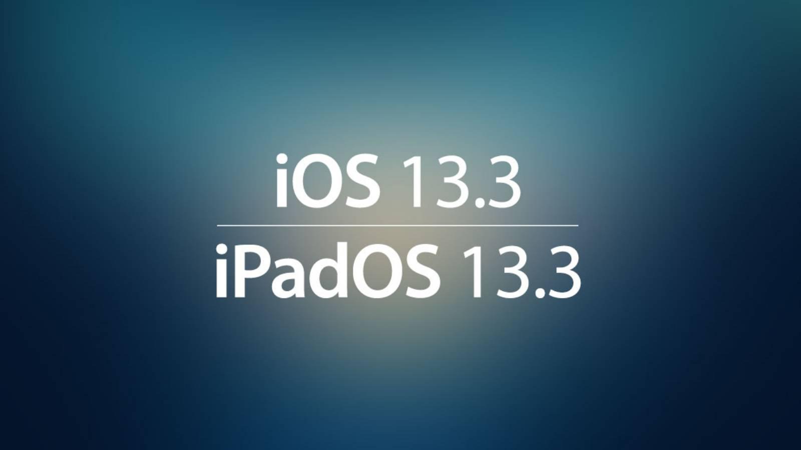 iOS 13.3 CONFIRMA NOU PRODUS Apple