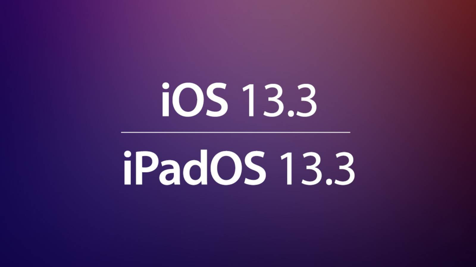 iOS 13.3 DATA LANSAREA iPhone iPad