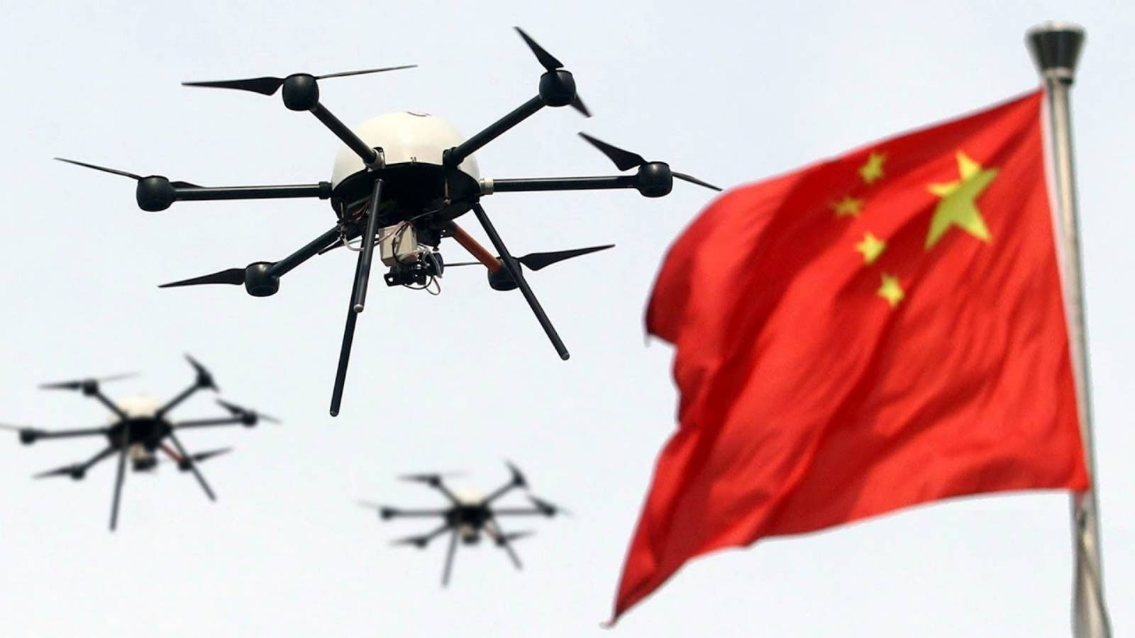 Dronele Chinezesti INTERZISE