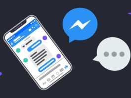 Facebook Messenger face id