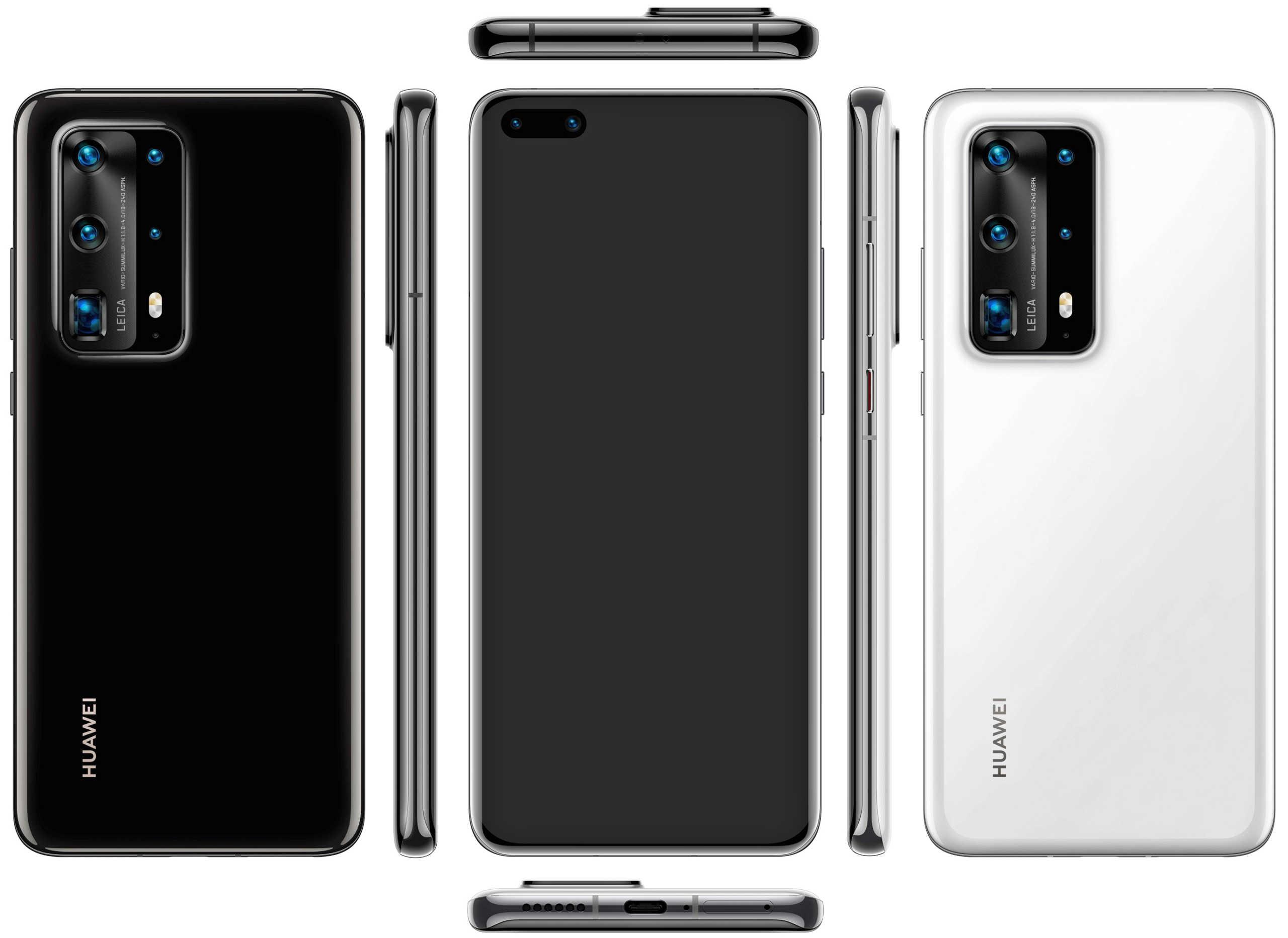 Huawei P40 PRO imagine presa clona GALAXY S20