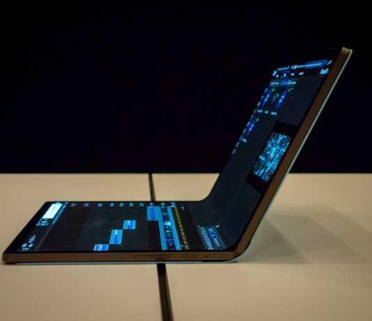 Intel Laptop Pliabil CES 2020