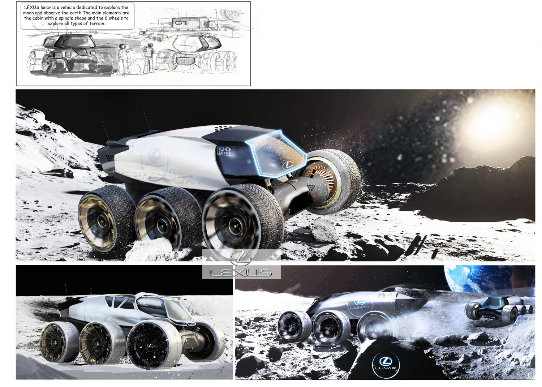 Lexus automobil luna