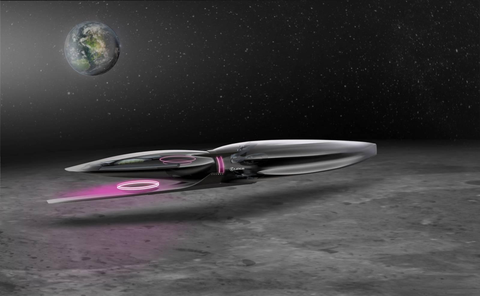Lexus nava spatiala luna