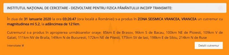 RO-ALERT cutremur romania