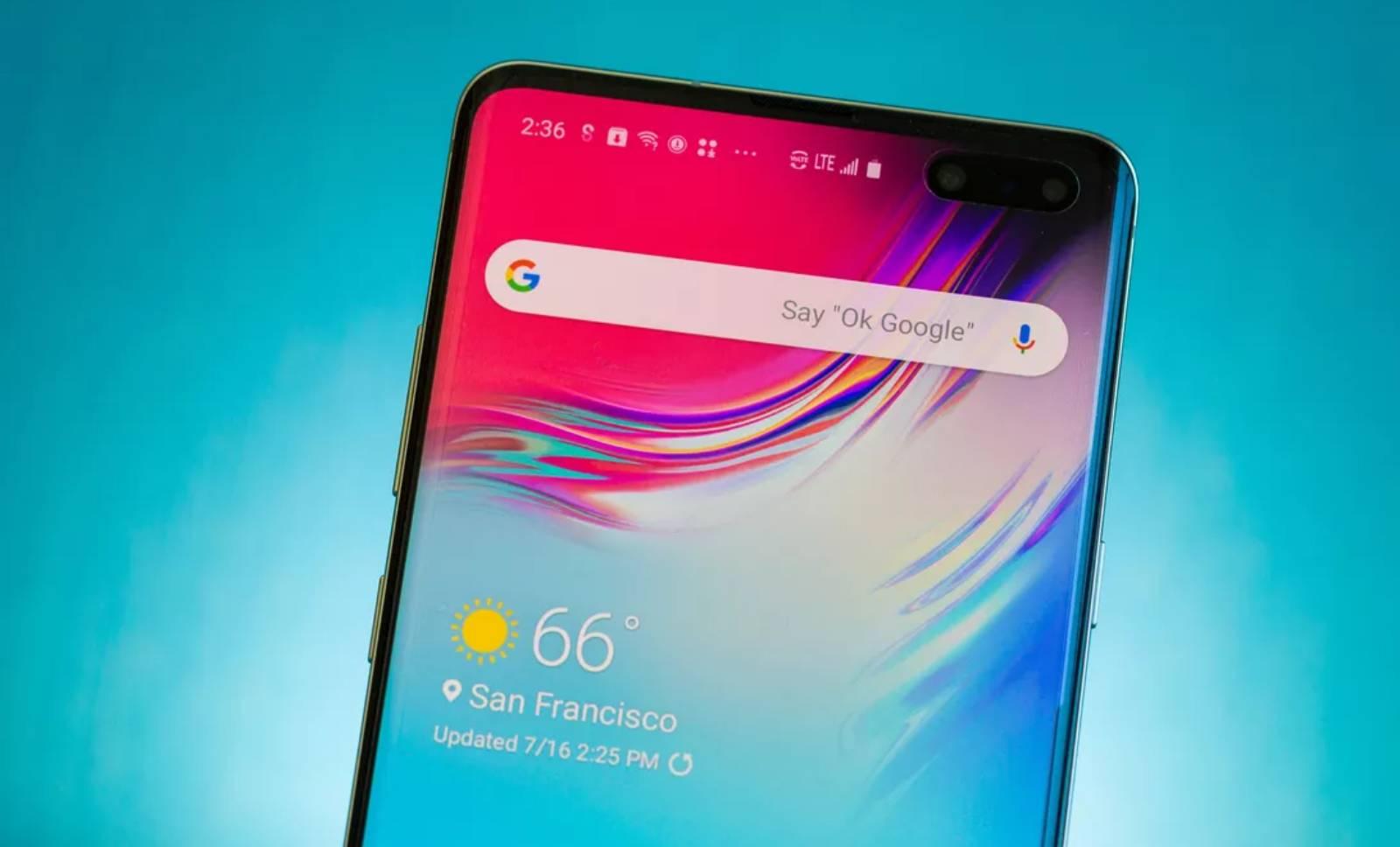 Samsung GALAXY S11 tiltois