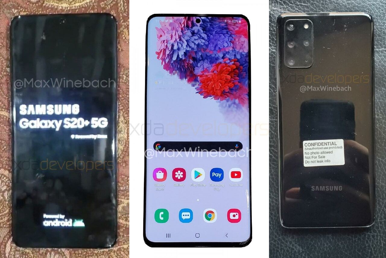 Samsung GALAXY S20 Plus: Primele IMAGINI cu o Unitate REALA