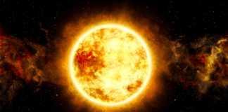 Soarele suprafata